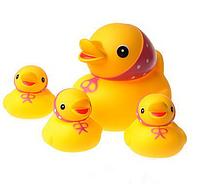 Игрушка для ванны КУРНОСИКИ «Семейка уточки» 25073, 6+