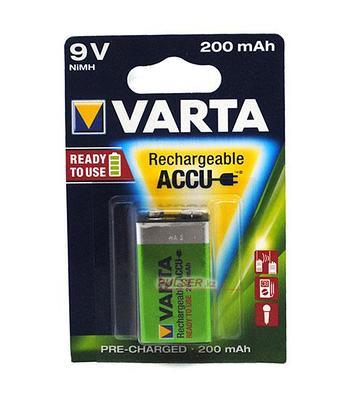 Аккумулятор Varta 9V (HR6F22)