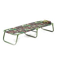 Раскладушка,складная кровать для лагеря/шезлонг, лежак