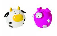 Набор игрушек для ванны КУРНОСИКИ 25081 «Кругляши с фермы» 2 шт 6+