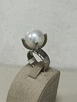 Кольцо с жемчугом Майорка / 17 размер / ЕВ54