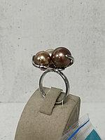 Кольцо / микс с жемчугом Майорка / 18,5 размер