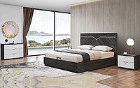 Кровать с подъемным механизмом Marcella 160х200, серый