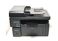 HP МФУ (принтер/сканер/копир/факс/телефон) HP LaserJet Pro M1214nfh MFP Лазерная (чб) A4 18 стр/мин USB 2.0