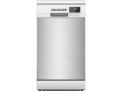 Посудомоечная машина DAUSCHER DD-4550FSS-G серебристая