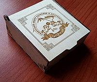 Подарочная коробочка из фанеры, фото 1