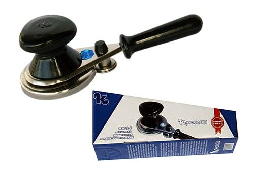 Закаточная машинка для банок Кредмаш МЗП 1-1, ключ для закатки - фото 1