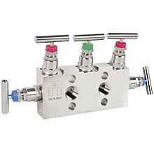 Модели IV30, IV31, IV50, IV51; 3 - 5-ходовой манифольд для приборов измерения дифференциального давления