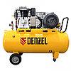 Компрессор воздушный, ременный привод BCI5500-T/270, 5.5 кВт, 270 литров, 850 л/мин Denzel