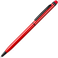 Ручка шариковая со стилусом TOUCHWRITER BLACK, глянцевый корпус, Красный, -, 1104 08