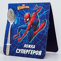 """Ложечка детская """"Супергерой"""", Человек-паук, 2,3 х 11 см"""