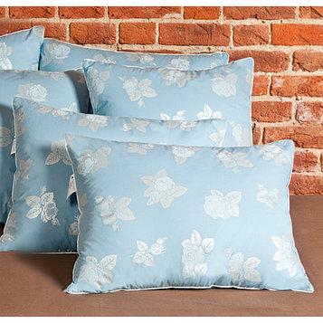 Подушка «Аракса», размер 50 × 68 см, тик, голубой