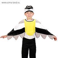 Карнавальный костюм «Синица», накидка, шапка, р. 28-30, рост 98-110 см