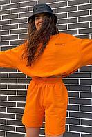 Женский летний трикотажный оранжевый джемпер Rawwwr clothing 282-начес оранжевый 40р.