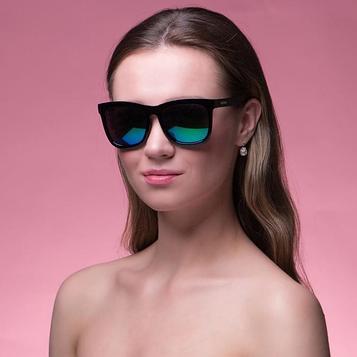 "Очки солнцезащитные ""Мастер К."", uv 400, 14х14х4.5 см, линза 4.5х5.2 см, зеркальные"