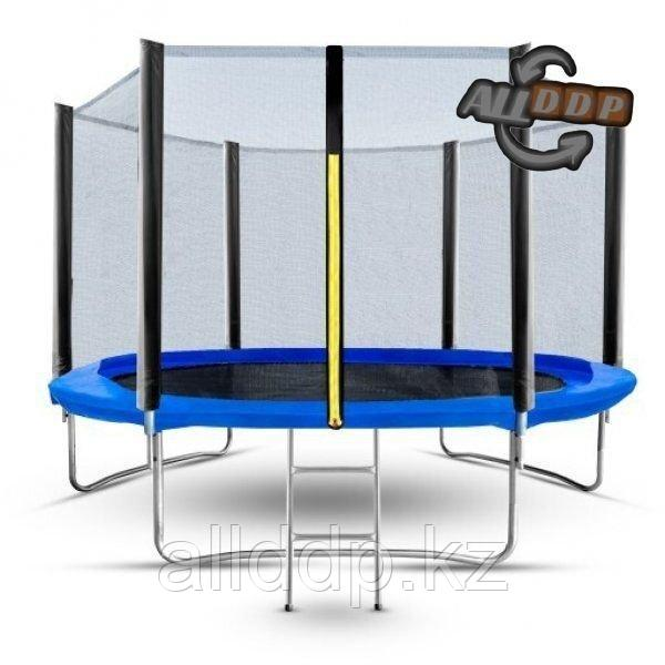 Батут пружинный Trampoline 2.44м - фото 1