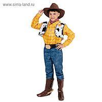 Карнавальный костюм «Ковбой Вуди», р.32, рост 122 см