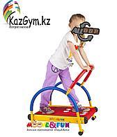 """Тренажер детский механический """"Беговая дорожка"""" с компьютером 3-8 лет (SH-01C)"""