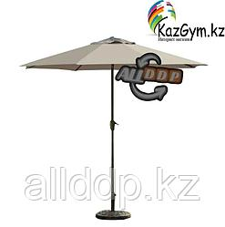 Зонт летний ART-Wave с подставкой (d=2.7м), бежевый