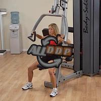 ОПЦИЯ к DGYM Двухпозиционный тренажер многофункциональный жим и верхняя тяга (DPLS-S)