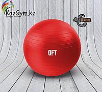 Гимнастический мяч 65 см, с насосом (FT-GBR-65RD)