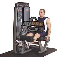 Двухпозиционный тренажер Сгибание \ разгибание ног сидя с весовым стеком 95 кг (DLEC-SF)