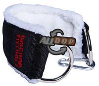 Нейлоновый ремень с шерстяной подкладкой для тренировки мышц бедра и ягодиц, с логотипом (FT-AS01-NLN)