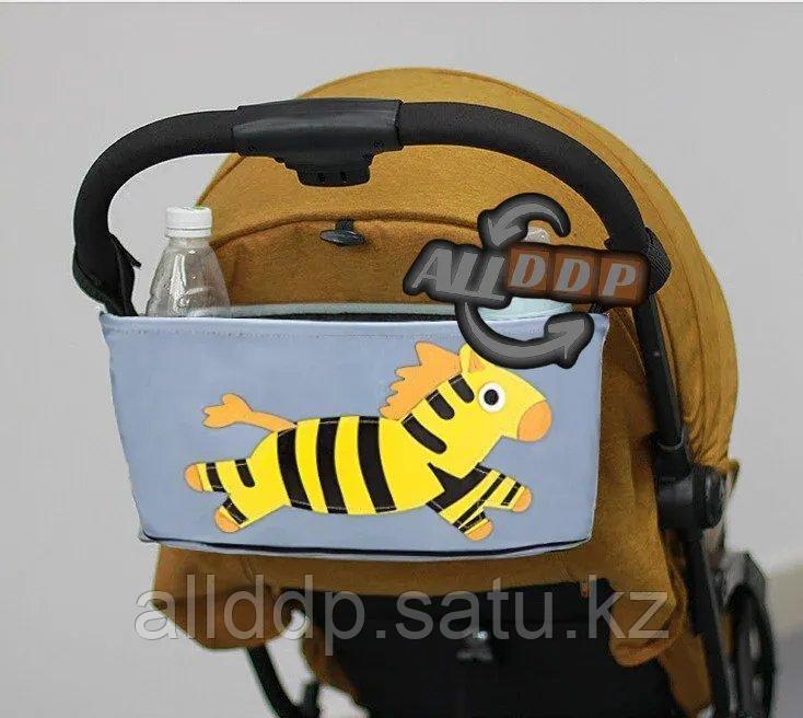 Сумка органайзер для коляски с зеброй