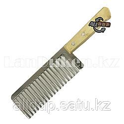 Нож для нарезки картофеля фри с деревянной рукояткой 27 см