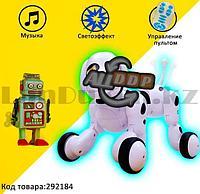 Игрушка Робот собака интерактивная электронная танцующая музыкальная на радиоуправлении Smart Pet 619