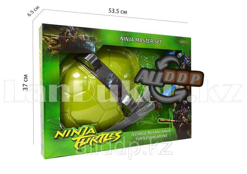 """Игровой набор Щит панцирь с двумя мечами """"Леонардо"""" Черепашки-Ниндзя"""