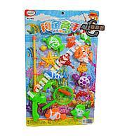 Детский игровой магнитный набор рыбалка с яркими игрушками