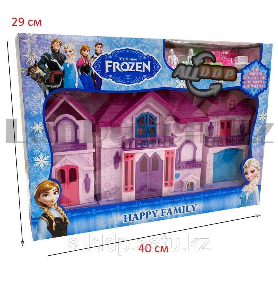 Игровой набор кукольный домик с мебелью Happy Family My house Frozen 1344 - фото 2
