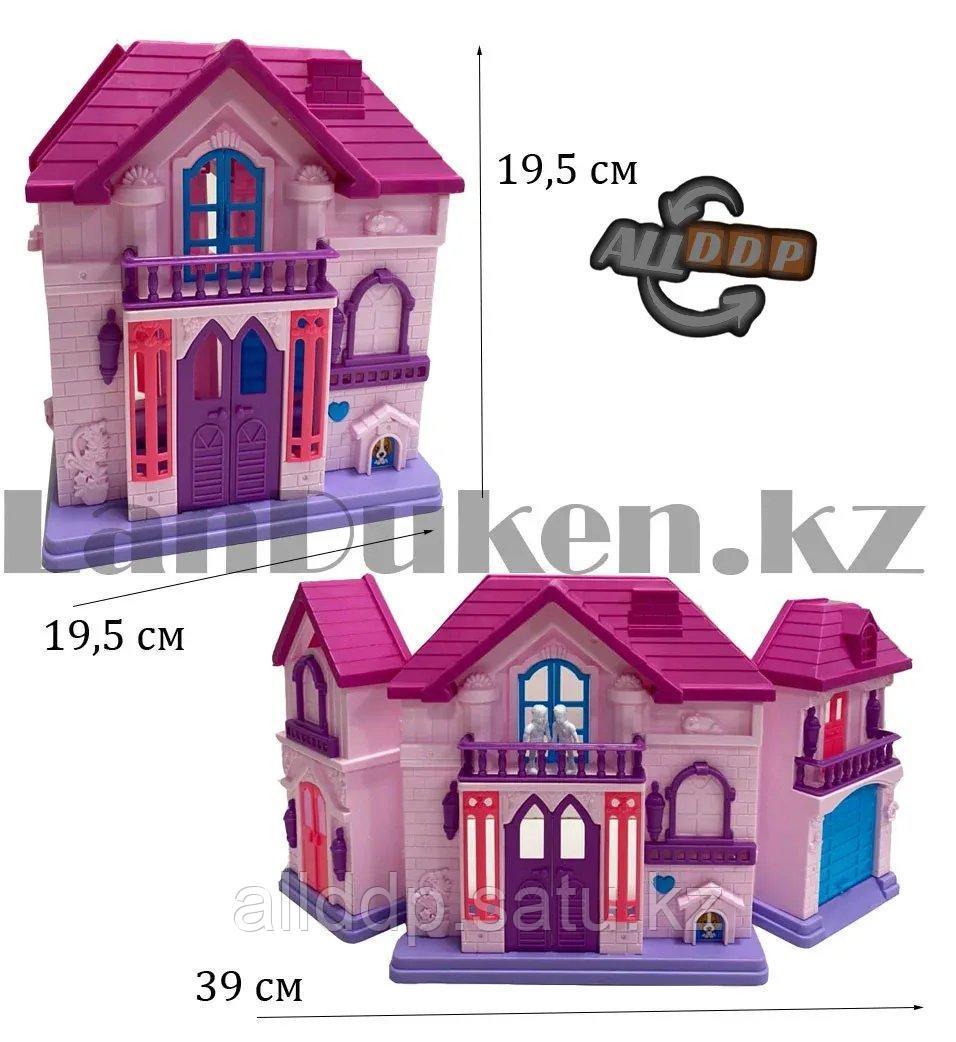 Игровой набор кукольный домик с мебелью Happy Family My house Frozen 1344 - фото 3