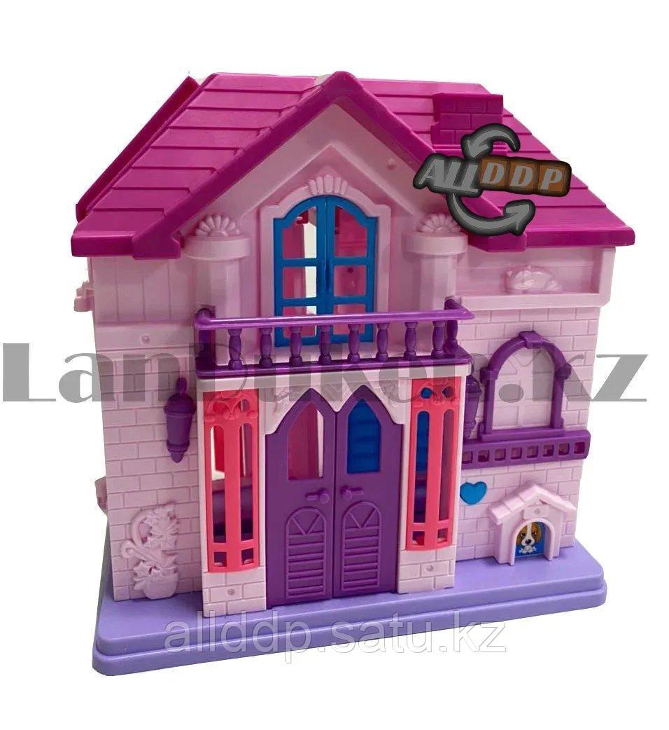 Игровой набор кукольный домик с мебелью Happy Family My house Frozen 1344 - фото 4