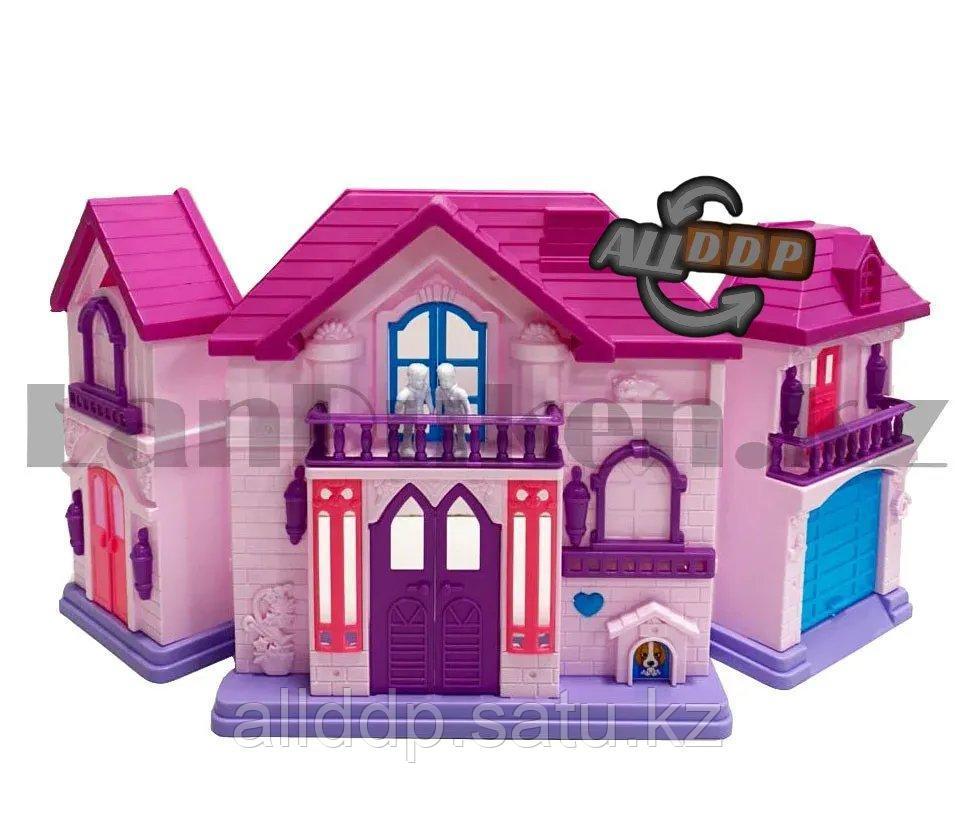 Игровой набор кукольный домик с мебелью Happy Family My house Frozen 1344 - фото 5