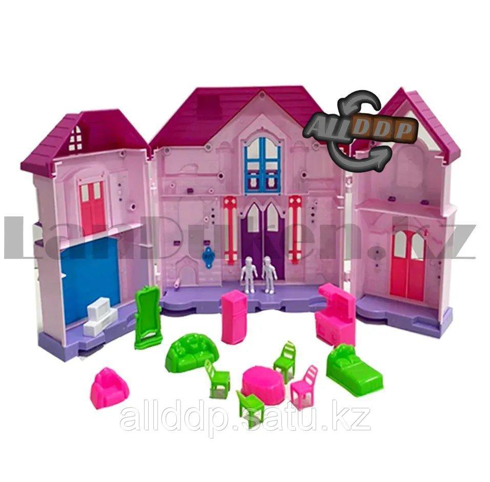 Игровой набор кукольный домик с мебелью Happy Family My house Frozen 1344 - фото 6