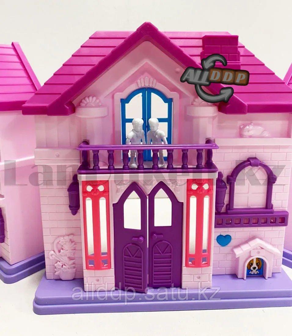 Игровой набор кукольный домик с мебелью Happy Family My house Frozen 1344 - фото 9