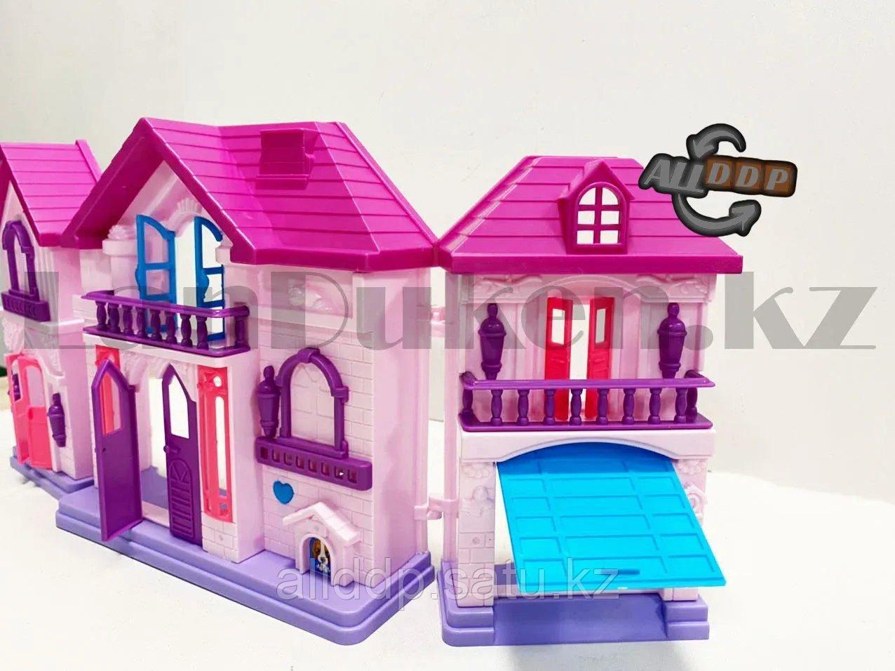 Игровой набор кукольный домик с мебелью Happy Family My house Frozen 1344 - фото 10