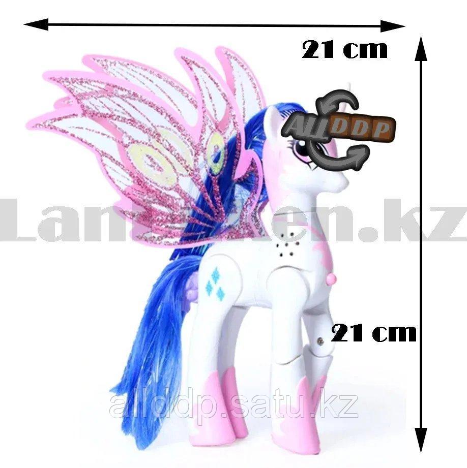 """Игрушка из серии Мой маленький пони """"My little Pony"""" музыкальные и световые эффекты 21*21 см Рэрити - фото 3"""