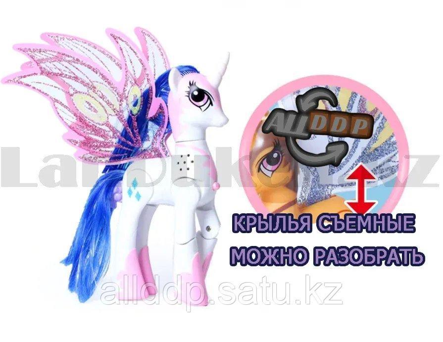 """Игрушка из серии Мой маленький пони """"My little Pony"""" музыкальные и световые эффекты 21*21 см Рэрити - фото 4"""