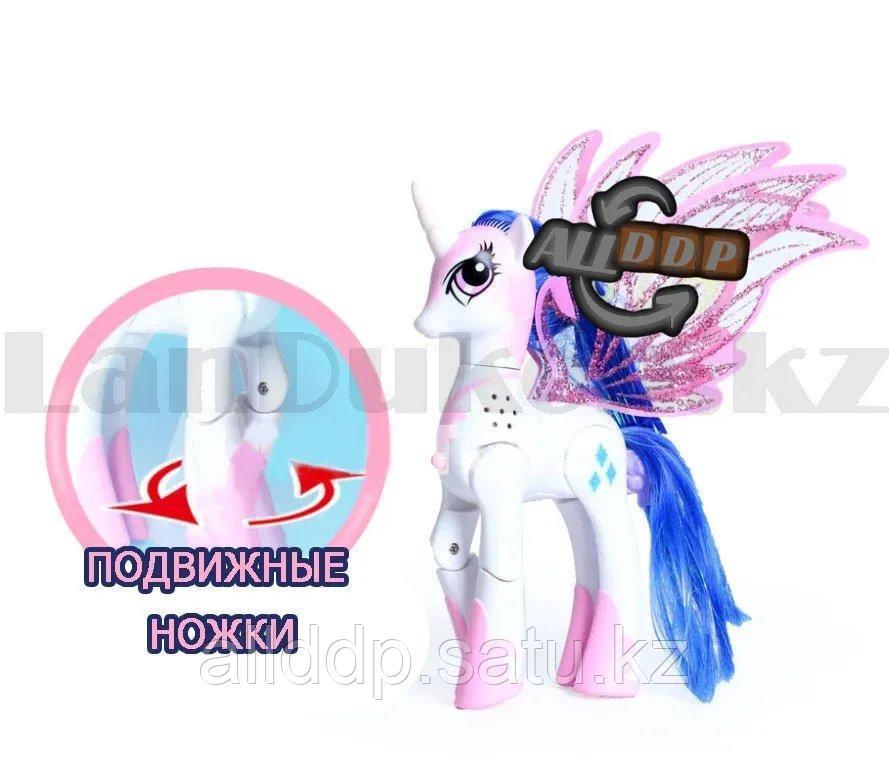 """Игрушка из серии Мой маленький пони """"My little Pony"""" музыкальные и световые эффекты 21*21 см Рэрити - фото 5"""