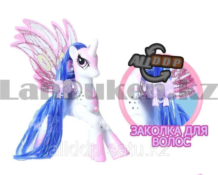 """Игрушка из серии Мой маленький пони """"My little Pony"""" музыкальные и световые эффекты 21*21 см Рэрити - фото 6"""