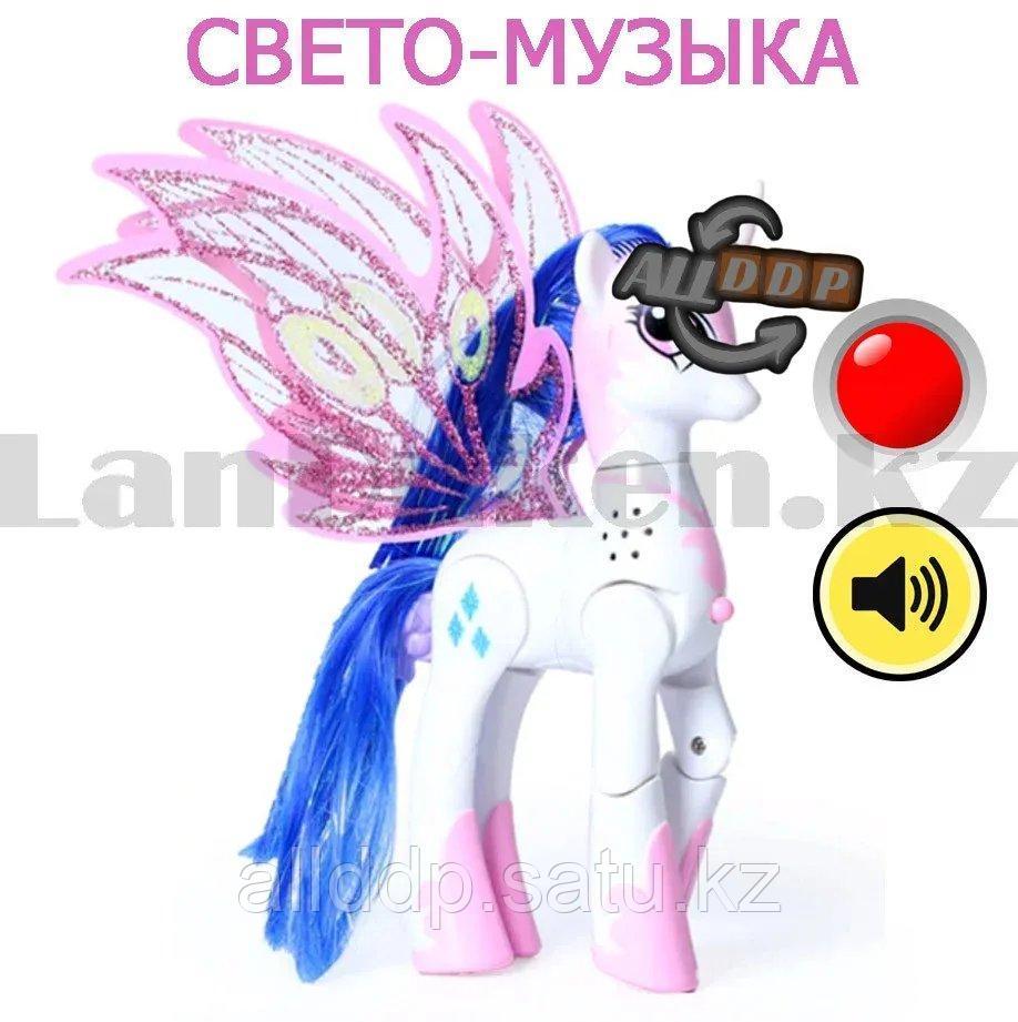 """Игрушка из серии Мой маленький пони """"My little Pony"""" музыкальные и световые эффекты 21*21 см Рэрити - фото 8"""
