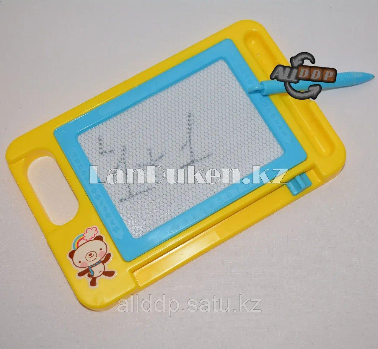 Детская доска для рисования магнитная с ручкой TK205 13х20.5 см в ассортименте