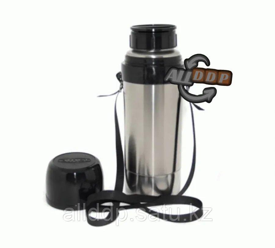 Термос 1.25 литров с ремешком (для напитков)