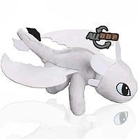 """Мягкая игрушка """"Беззубик"""" 27 см белый"""