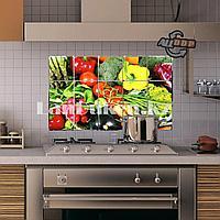 Кухонная наклейка на кафельную плитку 75x45 овощное ассорти TL-221