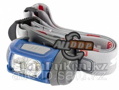 Фонарь наголовный Sport ABS пластик CREE XP-E LED 3Вт 120Лм + 3 ЭКО LED 8-18 часов Stern 90569 (002)
