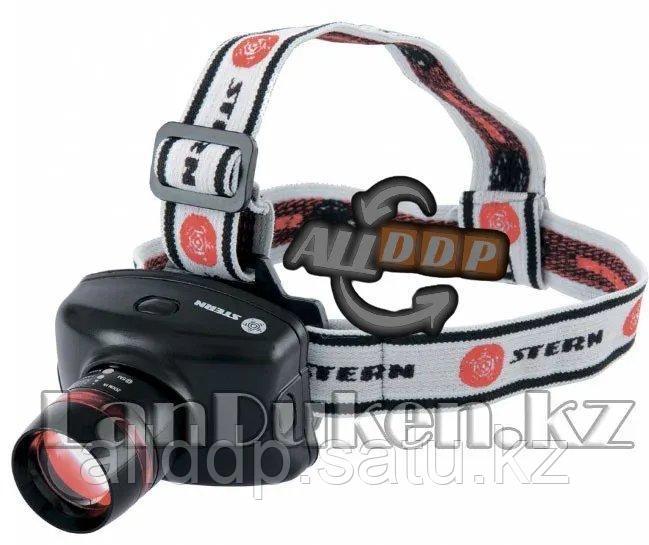 Фонарь наголовный Zoom 3W LED CRE Q5 160Лм 100 м 3 режима 100%-50% строб Stern 90567 (002)
